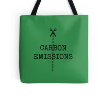 cut carbon emissions Tote Bag