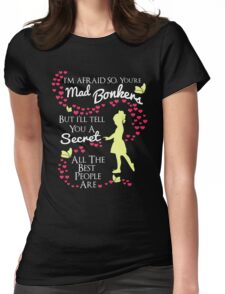 CLASSIC T-SHIRT BONKERS WOMEN MEN T-SHIRTS-HOODIE-SHIRT Womens Fitted T-Shirt