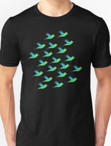 Cute Birds Unisex T-Shirt