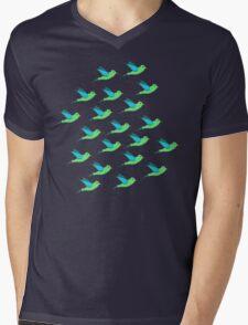 Cute Birds Mens V-Neck T-Shirt