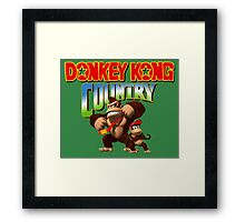 Donkey Kong Country Framed Print
