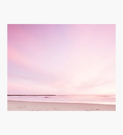 Pink sunset Photographic Print