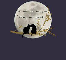 Ich liebe dich bis zum Mond und zurück  Unisex T-Shirt