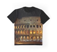 Colosseo by night Graphic T-Shirt