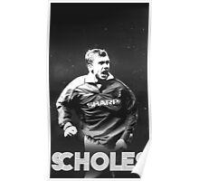 Vintage Scholes Poster