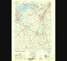 USGS TOPO Map New Jersey NJ Woodbury 255032 1949 25000 Unisex T-Shirt