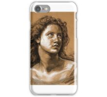 Vincenzo GEMITO (Naples - Naples ) ,Study of the Head of a Young Woman iPhone Case/Skin