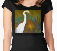 On Golden Pond Women's Fitted Scoop T-Shirt