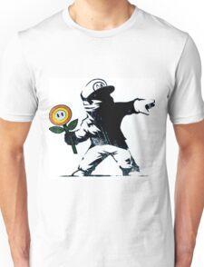 The Mario Flower Chucker Unisex T-Shirt