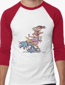 crazy surfer Men's Baseball ¾ T-Shirt