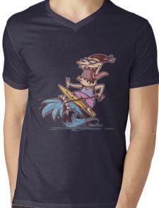 crazy surfer Mens V-Neck T-Shirt