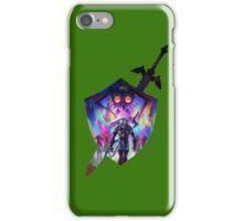 zelda sword and shield iPhone Case/Skin