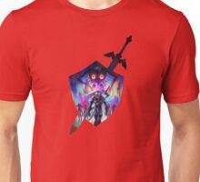 zelda sword and shield Unisex T-Shirt