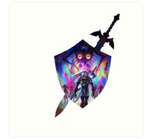 zelda sword and shield Art Print