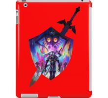 zelda sword and shield iPad Case/Skin