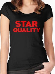 Star Quality Women's Fitted Scoop T-Shirt