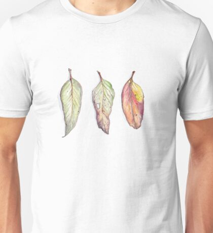 Autumn leaves - wild Australia Unisex T-Shirt