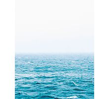 Landscape Blue water Photographic Print