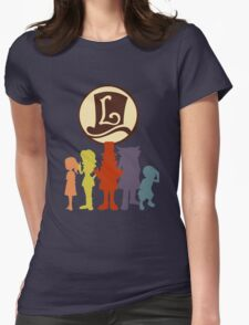 Professor Layton  Womens Fitted T-Shirt