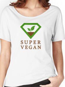 Super Vegan Women's Relaxed Fit T-Shirt