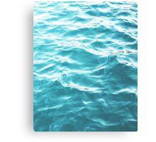 Landscape Blue water Canvas Print
