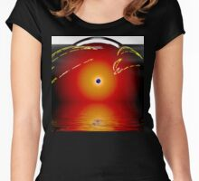 Oracle Of Neptune Women's Fitted Scoop T-Shirt