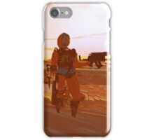 ARES CYBORG IN THE DESERT OF HYPERION,Sci Fi Movie iPhone Case/Skin