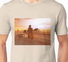ARES CYBORG IN THE DESERT OF HYPERION,Sci Fi Movie Unisex T-Shirt
