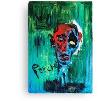 """""""Il ballo del depresso"""" Canvas Print"""