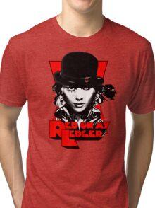 Red on my Ledger Tri-blend T-Shirt