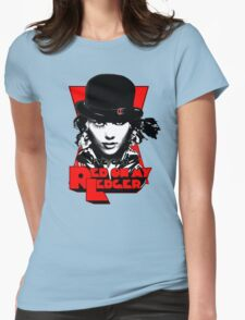 Red on my Ledger Womens Fitted T-Shirt