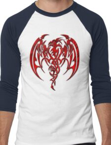 Red Dragon Men's Baseball ¾ T-Shirt