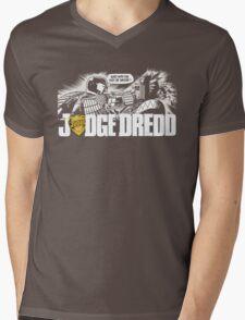 Judge Dredd T-Shirt Mens V-Neck T-Shirt