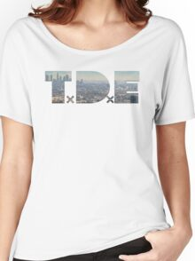 Tde Compten city Women's Relaxed Fit T-Shirt