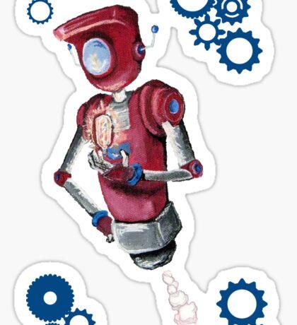 Robot Flash Sticker