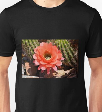 Torch Cactus Flower Unisex T-Shirt