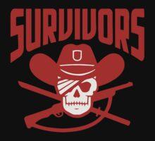 Survivors The Walking Dead TWD Kids Tee