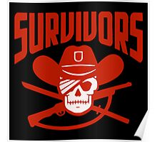 Survivors The Walking Dead TWD Poster