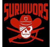 Survivors The Walking Dead TWD Photographic Print