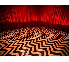 The Red Room Photographic Print