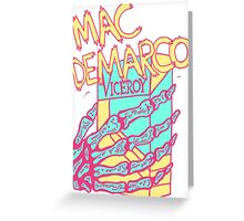 Mac DeMarco  Greeting Card