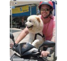 Scooter Dog iPad Case/Skin