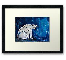 """Orso polare"" Framed Print"