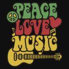 Reggae Peace-Love-Music by Lisann