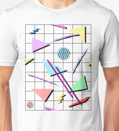 80s Triangles T-shirt for Adults
