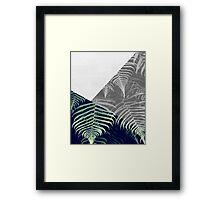 Fern Abstract Framed Print