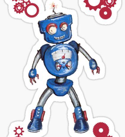 Robot Gauge Sticker