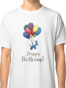 Balloon Animal Birthday Balloons! Classic T-Shirt