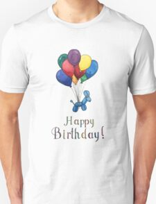 Balloon Animal Birthday Balloons! Unisex T-Shirt