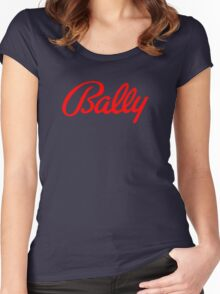 Bally classic pinball machines brand Women's Fitted Scoop T-Shirt